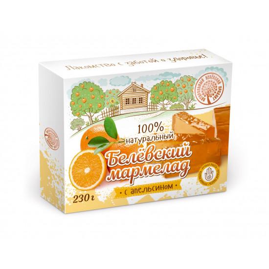 БП Белевский мармелад  с апельсином, 230 грамм