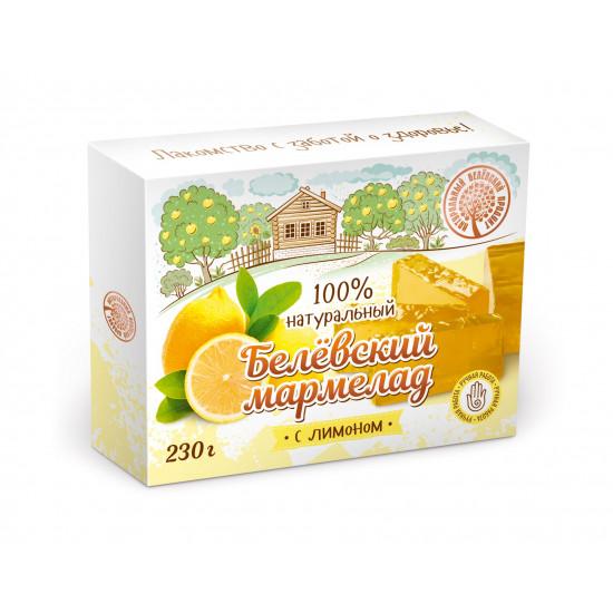БП Белевский мармелад  с лимоном, 230 грамм