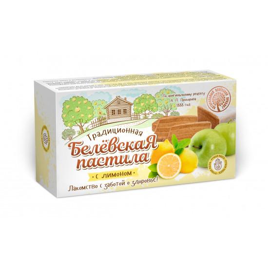 Белевская пастила  с лимоном, 100 грамм