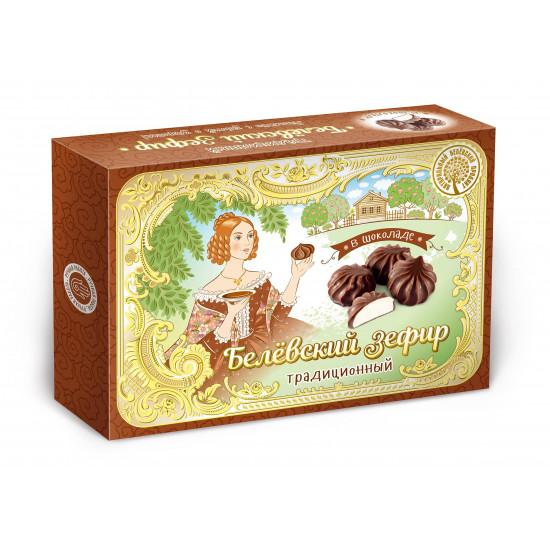 БП Традиционный Белевский  зефир  «В шоколаде», 200 грамм