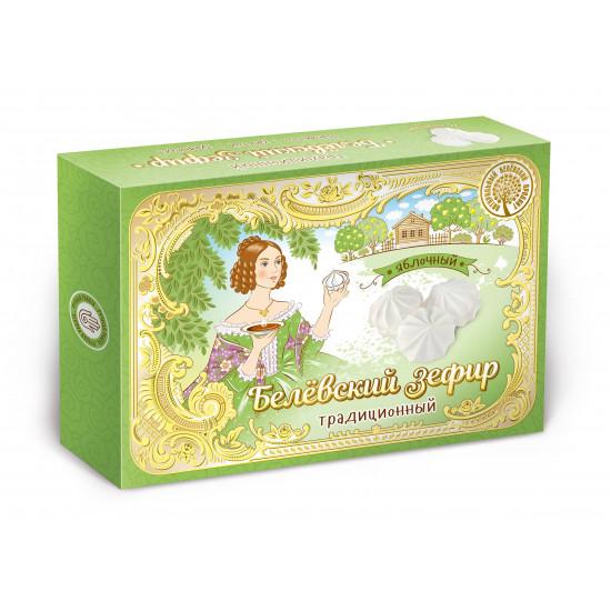 БП Традиционный Белевский  зефир  «Яблочный», 200 грамм