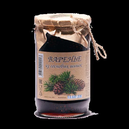 Варенье из сосновых шишек СТБ, 430 гр.